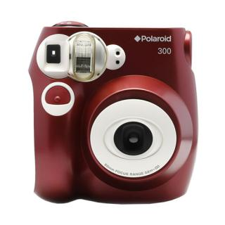 Analog Instant 300 Camera Red