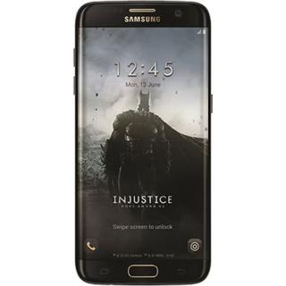 Galaxy S7 Edge Dual Sim 32GB LTE 4G Black Batman Version + 3D VR Glasses