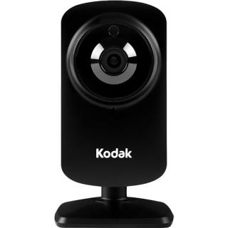 HD Wi-Fi Video Monitoring Security Camera with Lifetime 1-Day Cloud Storage Black