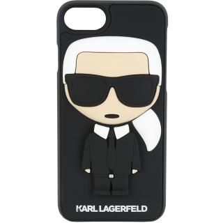 watch 2050b 6842a Karl Back cover Black Apple iPhone 7, iPhone 8