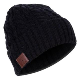 Musical Beanie Hat With Bluetooth And Mic Black