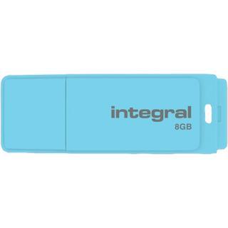 8GB Pastel Blue Sky Usb memory stick Blue
