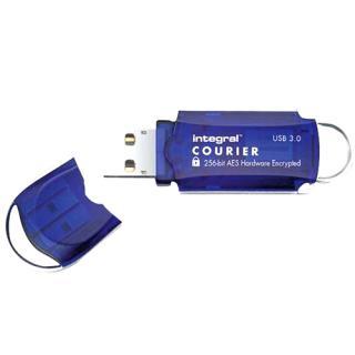 8GB Courier USB 3.0 Fips Hardware Encrypt USB Flash Drive