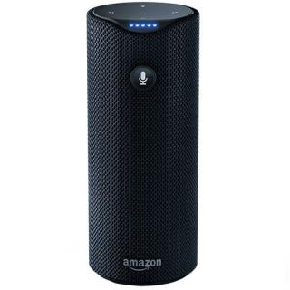 Tap Black Portable Speaker With Touch, Voice Control And App