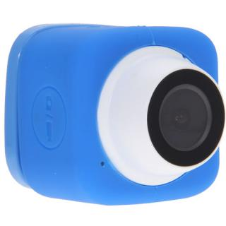 Wi-Fi Selfie Camera With Memory Card And App Blue