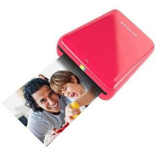 Zip Mobile Printer Instant Photos + 10 Photo Sheets Red