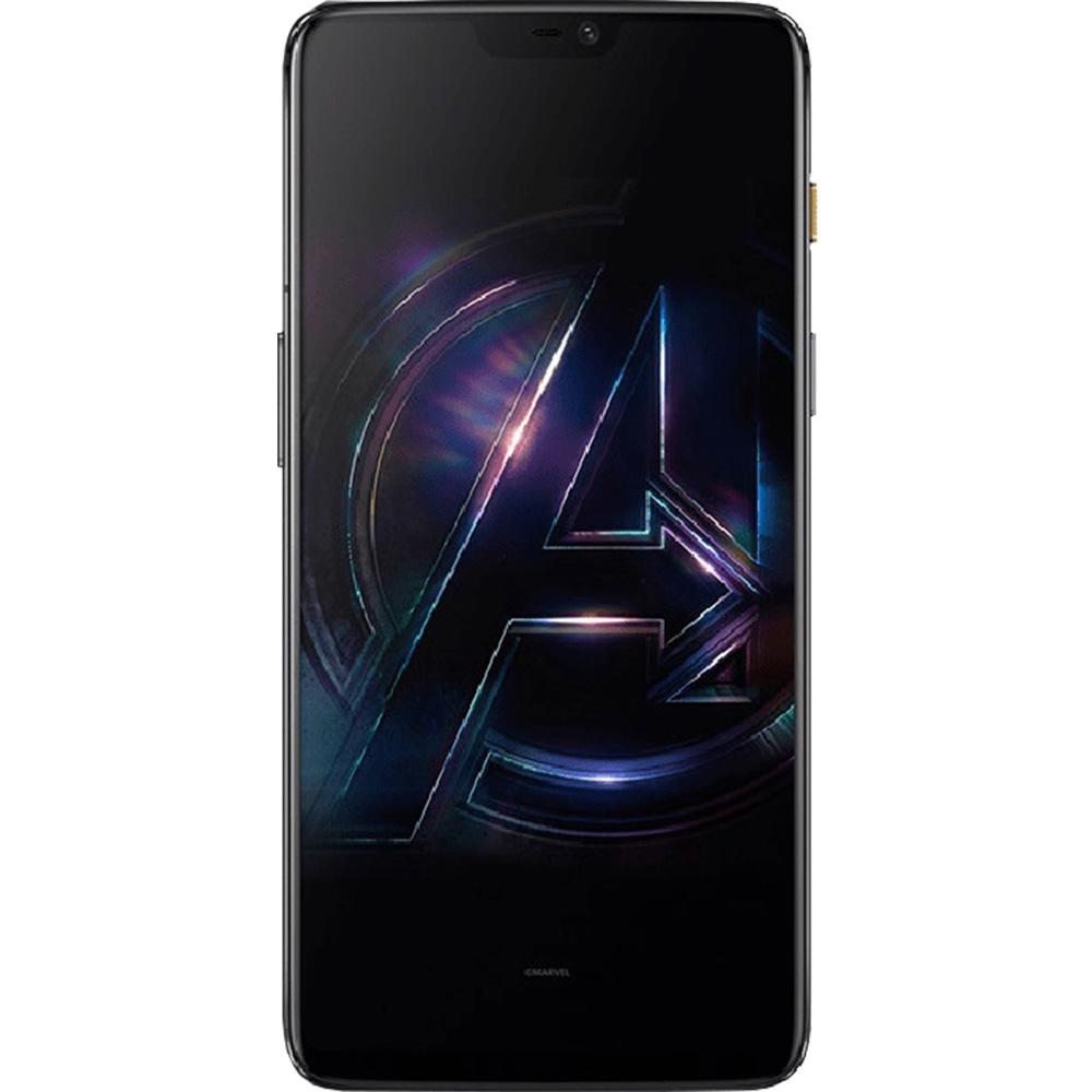 6  Dual Sim 256GB LTE 4G Black Avengers Version 8GB RAM