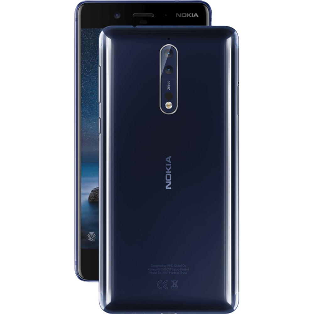 8  Dual Sim 64GB LTE 4G Blue + Back Case 4GB RAM