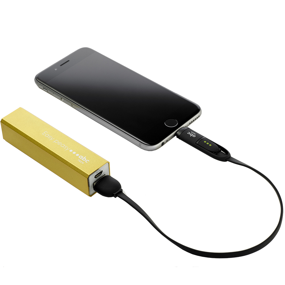 1800mAh Power bank Yellow