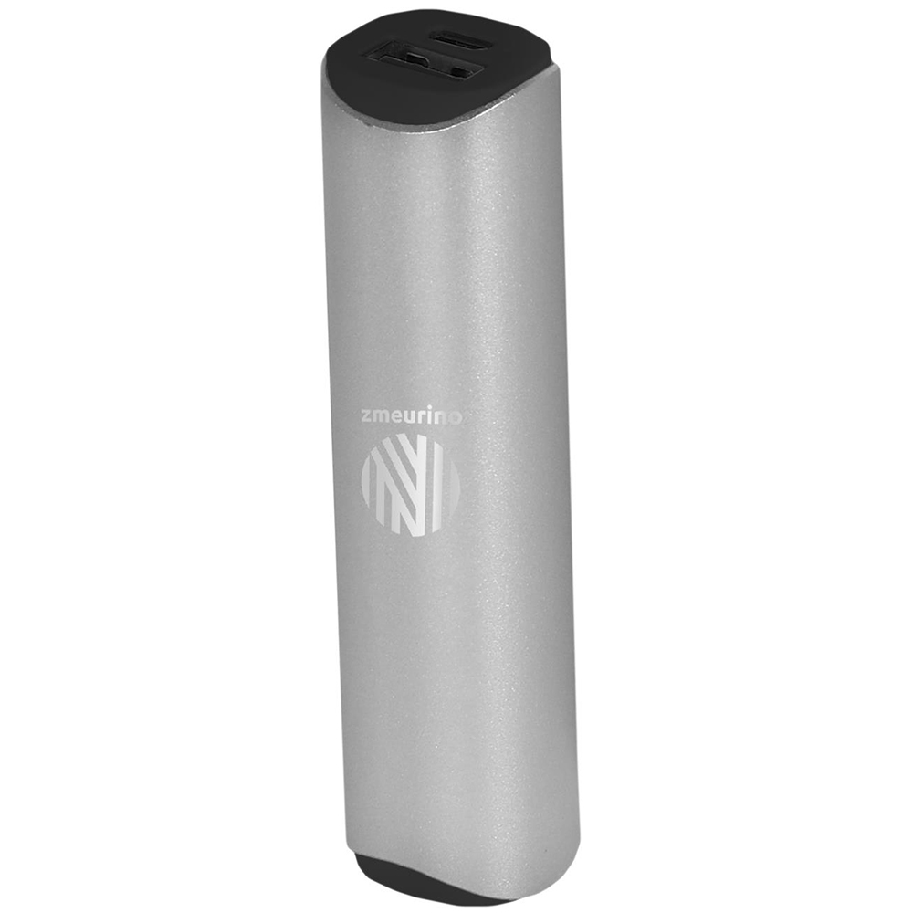 Baterie Externa ZMEURINO 2600 mAh Argintiu PB187