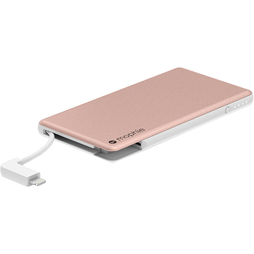 Powerstation Plus Mini And Lightning + Micro USB Cables 4000 mAh Power bank Pink