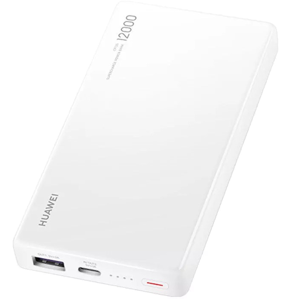 Baterie Externa HUAWEI 55030727 SuperCharge 12000mAh Alb