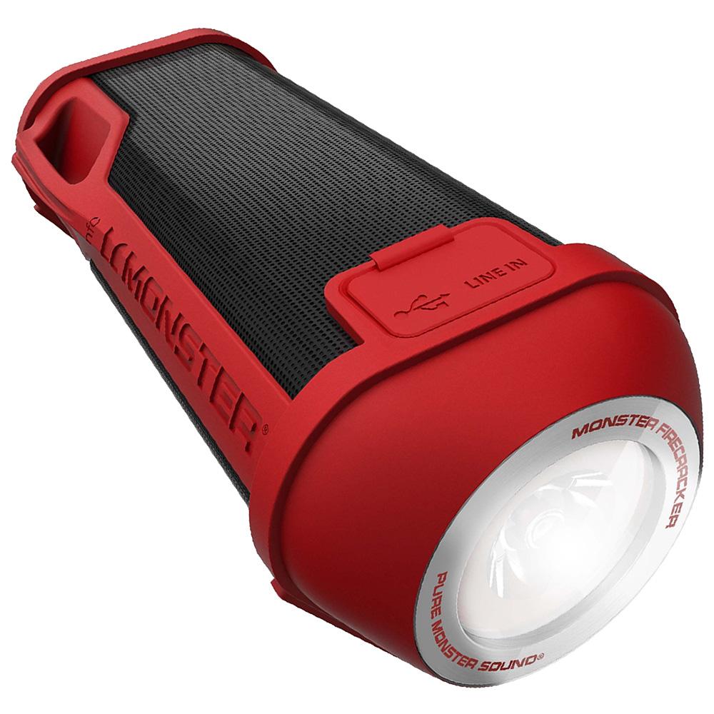 MONSTER Boxa Portabila Firecracker High Definition Rosu