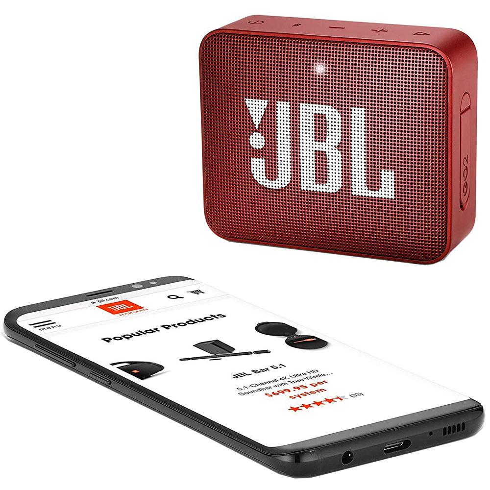 Go 2 Bluetooth Speaker Red
