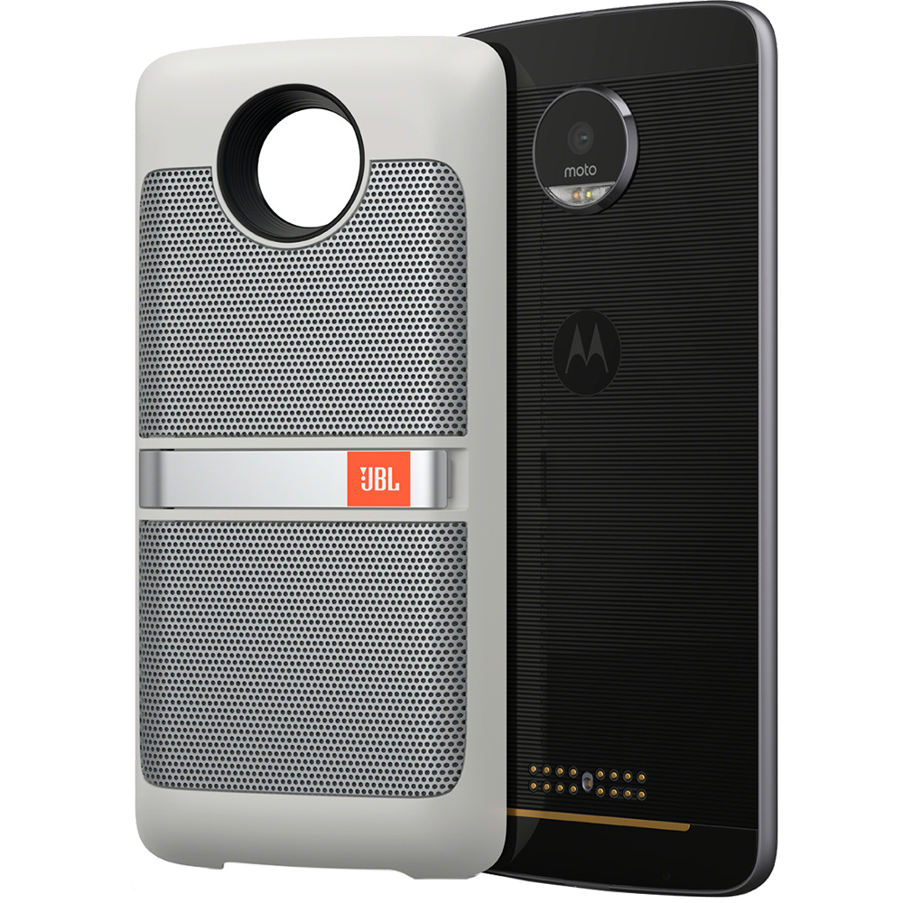 ... Sound Boost Moto Mods Speaker For Motorola Moto Z White