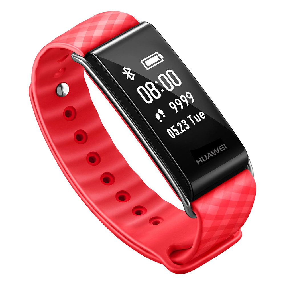 Fitness Bracelet Color Band A2   Red