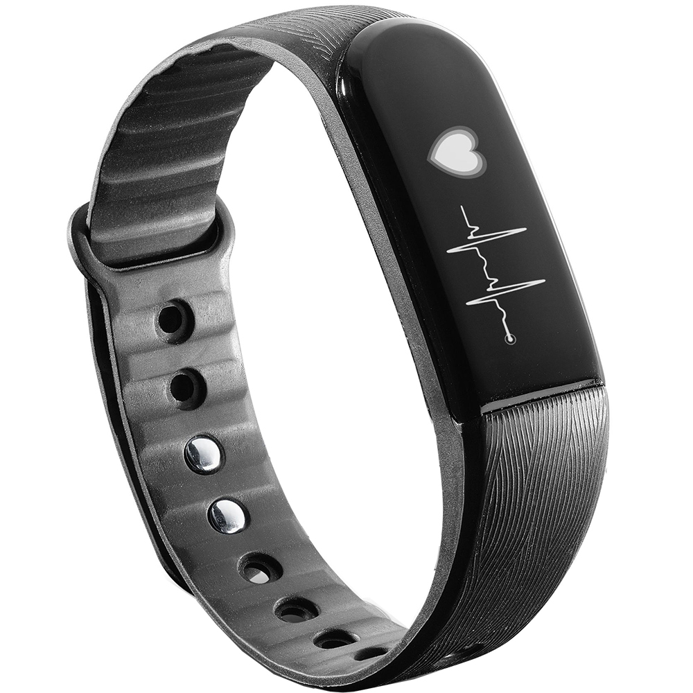 Fitness Bracelets Fitness Bracelet Easy Fit Touch Hr Black 190798