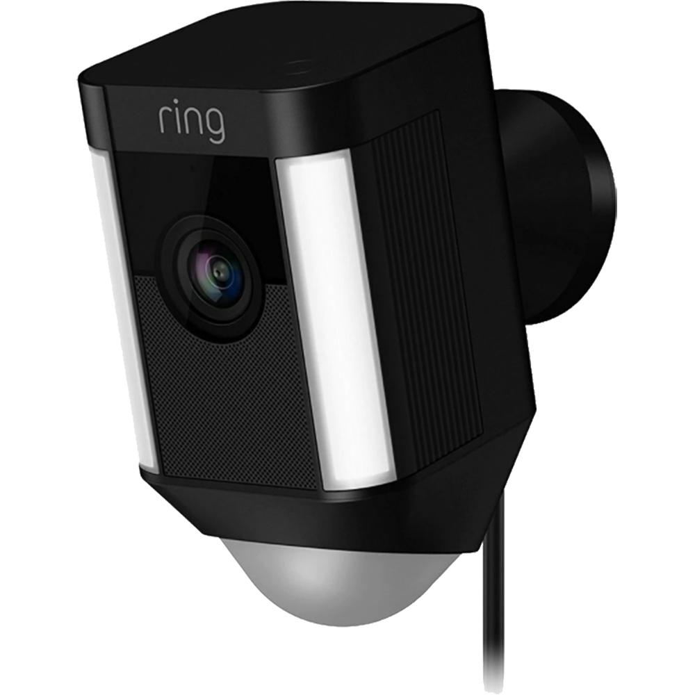 RING Camera de Supraveghere Spotlight HD Cu Microfon Negru