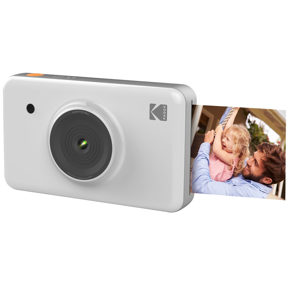 Mini Shot Photo Camera White