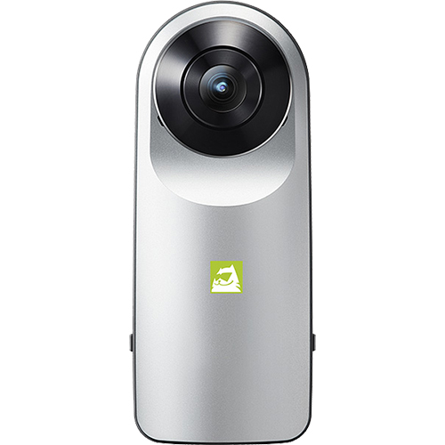 360 Video And Photo Camera Grey