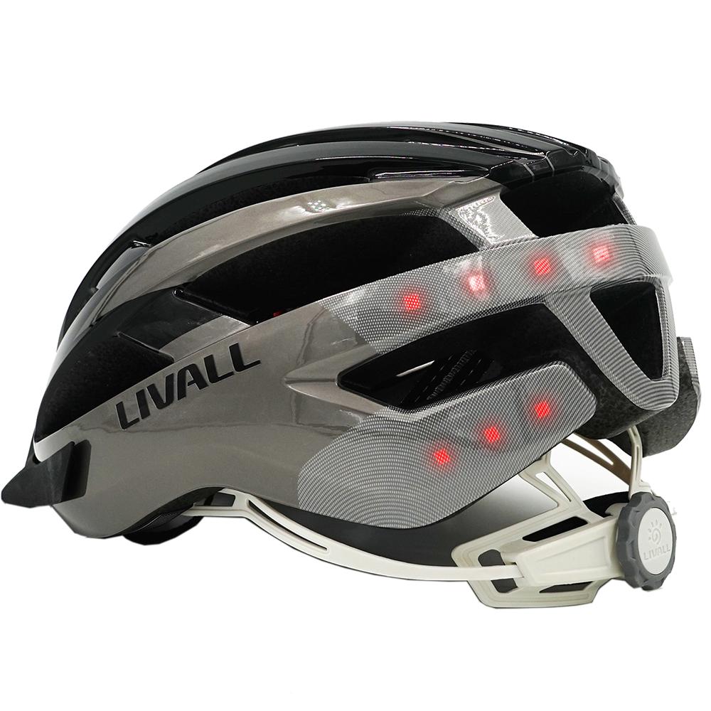 Bike Accessories Smart Bike Helmet Black Grey Bluetooth ...