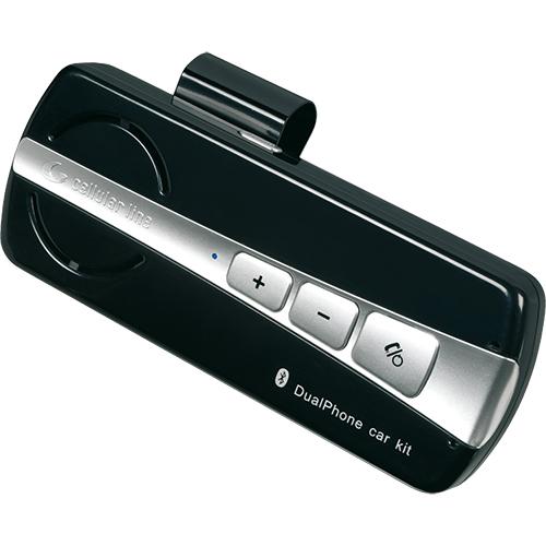 photo lens multipoint car kit black 105409 cellularline. Black Bedroom Furniture Sets. Home Design Ideas