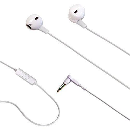 Indoor Lightning Drops With Mic Headsets White 142322 CELLY