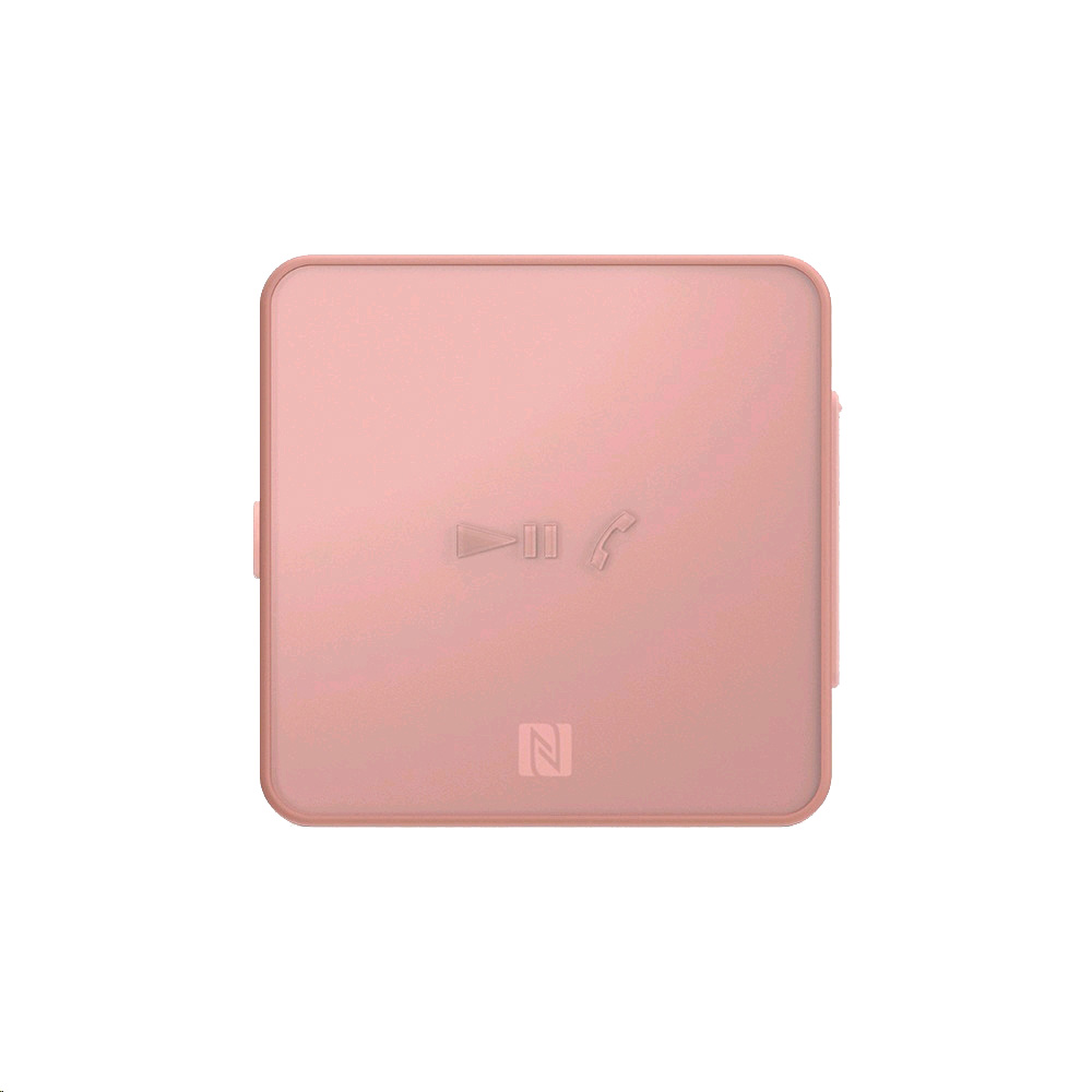Clip Style Stereo Bluetooth Device Pink