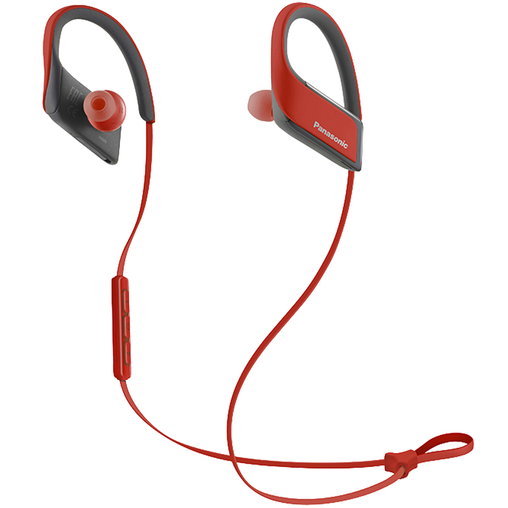 Stereo Sport Wireless Headphones Red