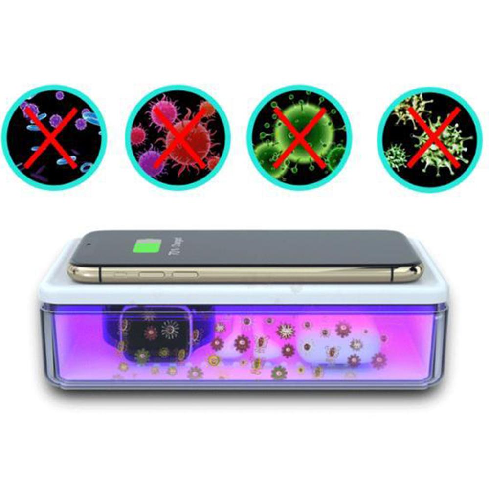 STAR Cutie Cu Lampa Bactericida Virucida UVC+ Incarcator Wireless 15W