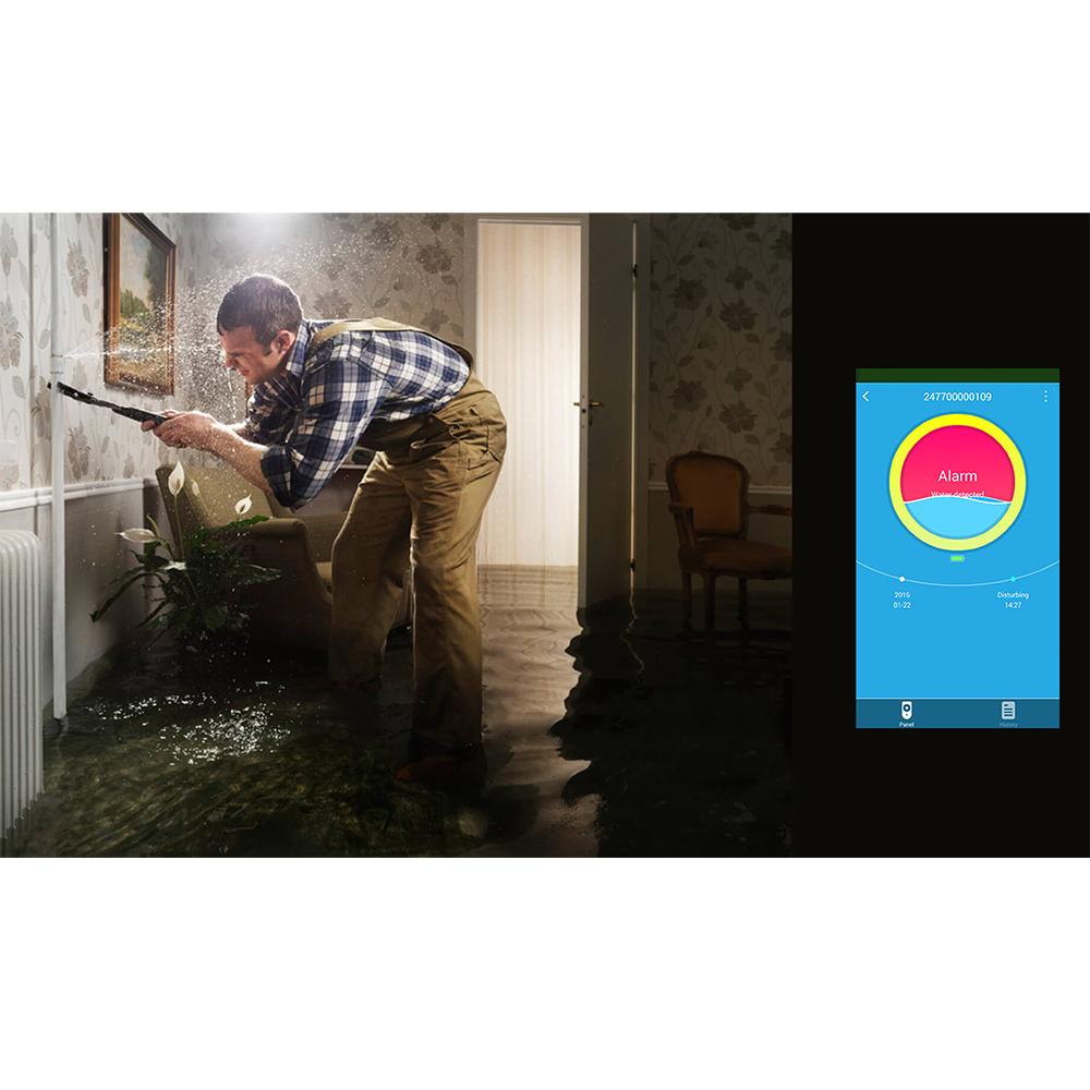 Smart Water Leak Detector White
