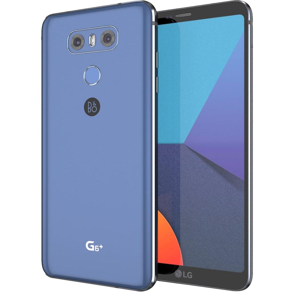 Mobile Phones G6 Plus Dual Sim 128GB LTE 4G Blue 4GB RAM