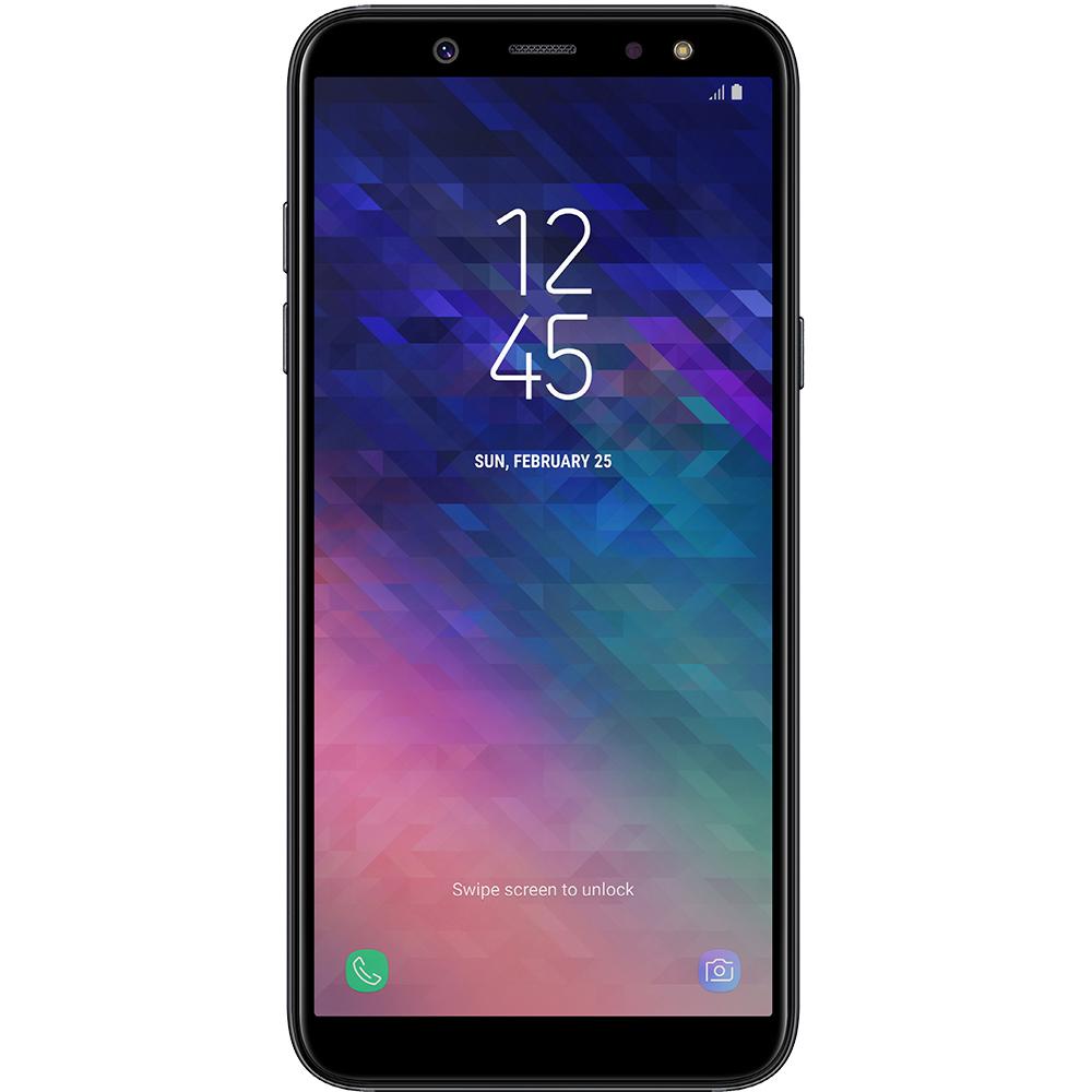 a724c461177 Mobile Phones Galaxy A6 Plus 2018 Dual Sim 32GB LTE 4G Black 4GB RAM ...
