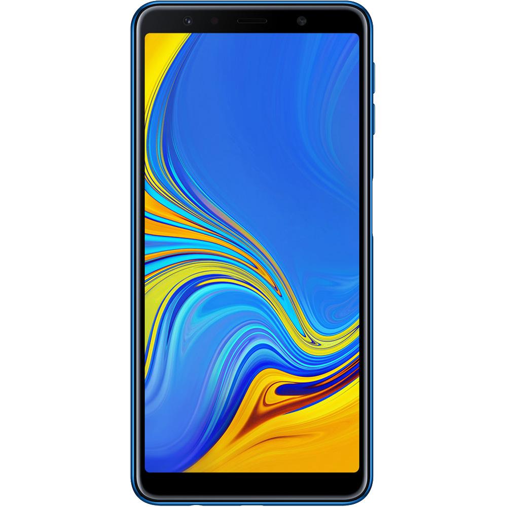 Galaxy A7 2018  Dual Sim 64GB LTE 4G Blue  4GB RAM