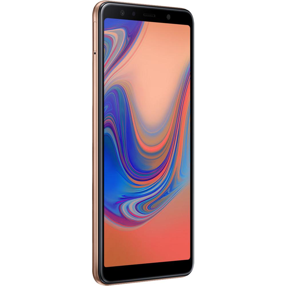 Galaxy A7 2018  Dual Sim 64GB LTE 4G Gold  4GB RAM