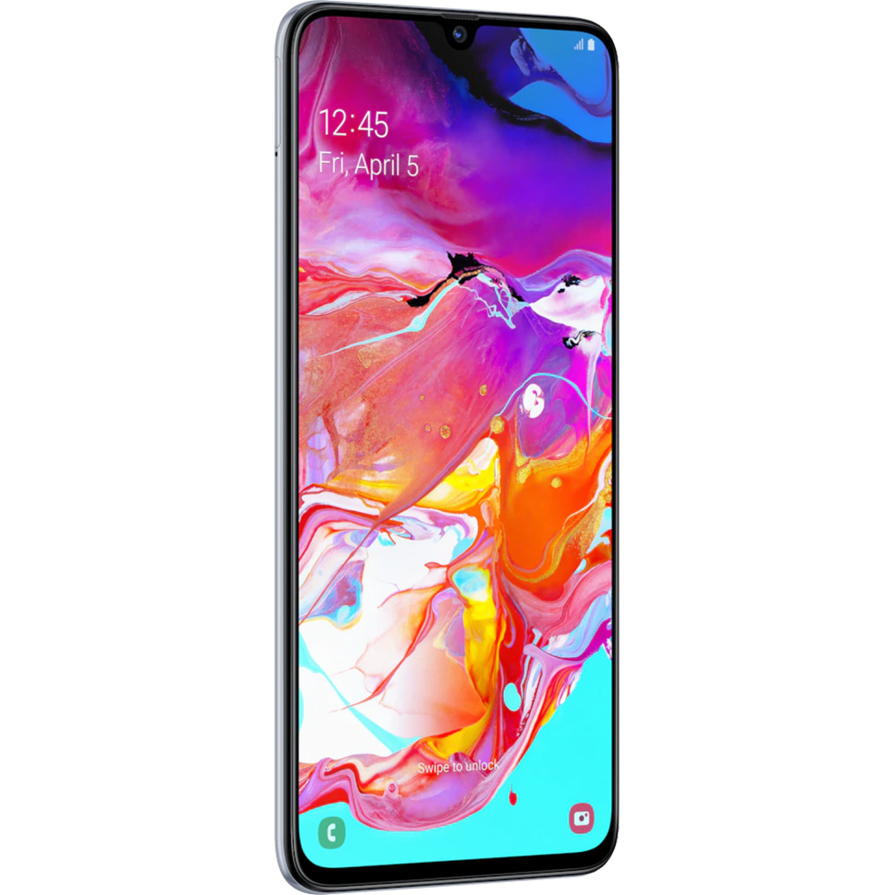 Galaxy A70  Dual Sim 128GB LTE 4G White  6GB RAM