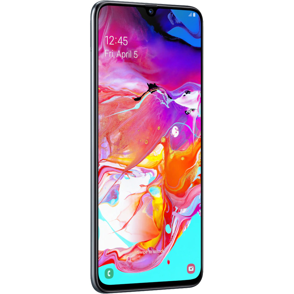 Galaxy A70  Dual Sim 128GB LTE 4G Black  6GB RAM