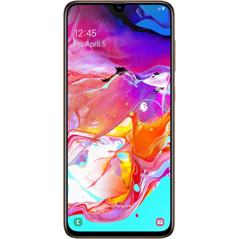 Galaxy A70  Dual Sim 128GB LTE 4G Orange Coral 6GB RAM