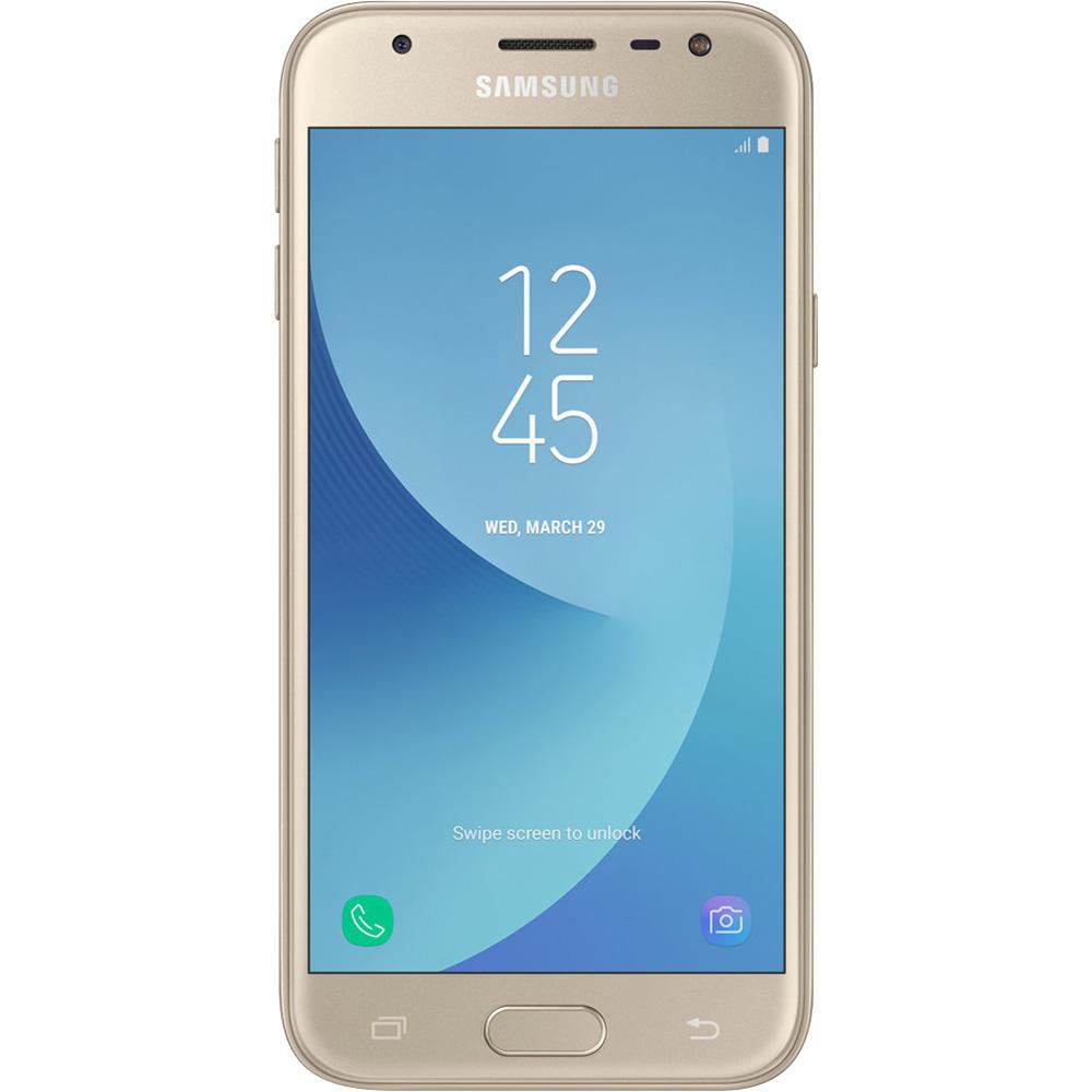Galaxy J3 2017 Dual Sim 16GB LTE 4G Gold