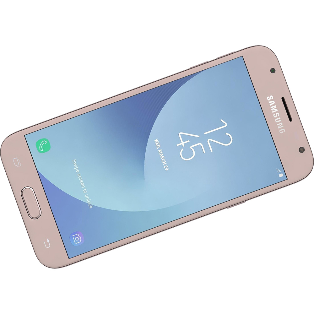 Mobile Phones Galaxy J3 2017 Dual Sim 16GB LTE 4G Pink