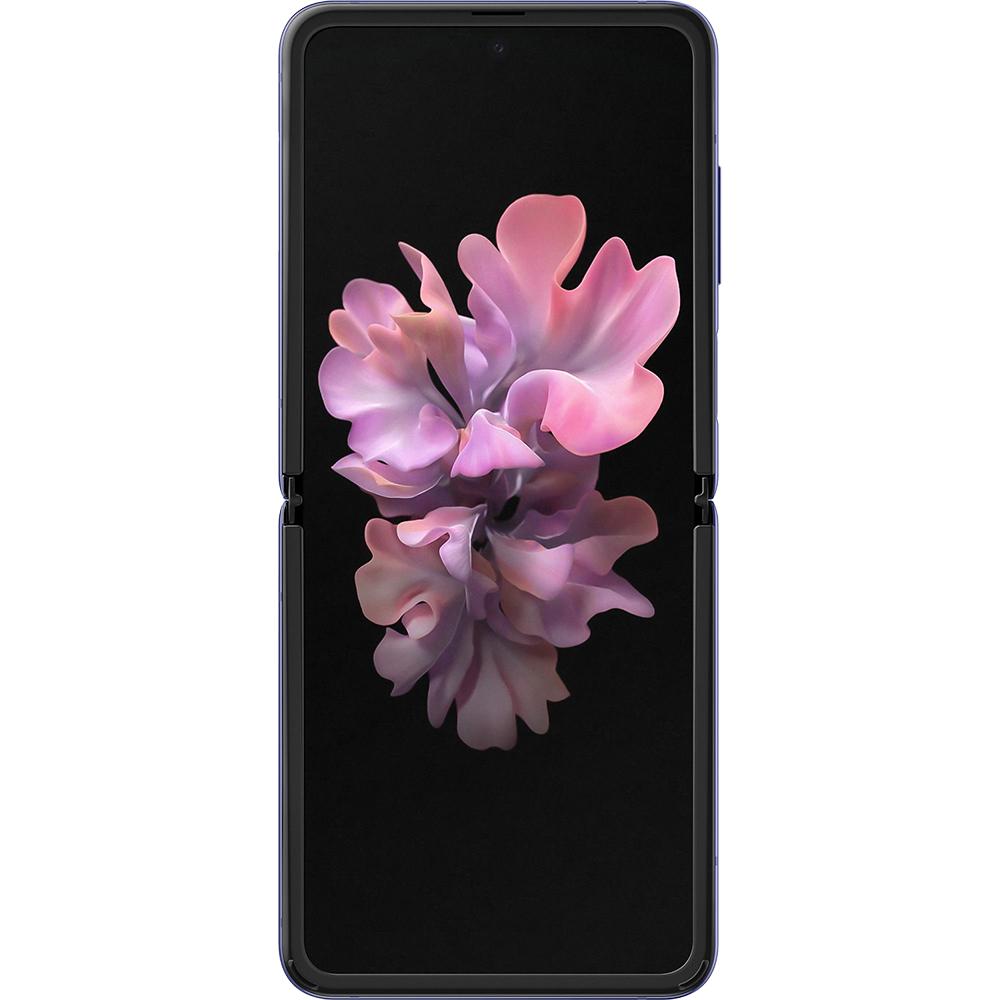Galaxy Z Flip Dual Sim Hybrid 256GB LTE 4G Purple Mirror Purple Snapdragon 8GB RAM