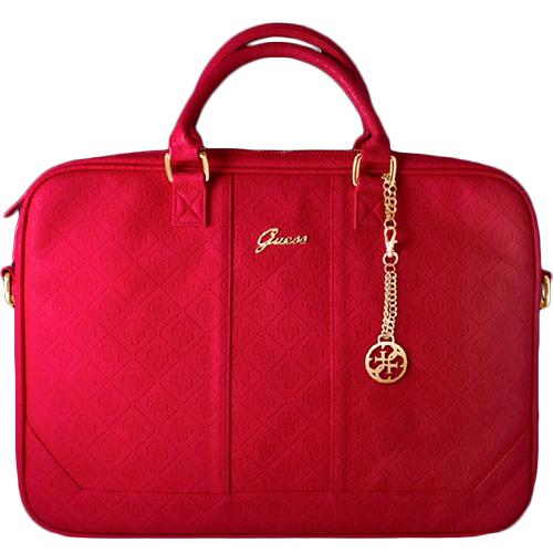Guess Scarlett 13 Laptop Bag Red