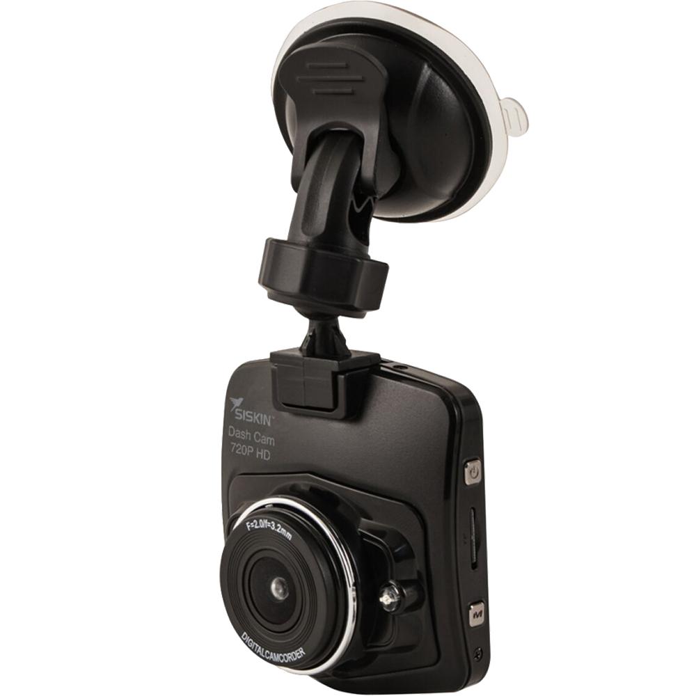 SISKIN HD Dash Cam Camera Auto Cu Card Micro SD 16GB Inclus Negru