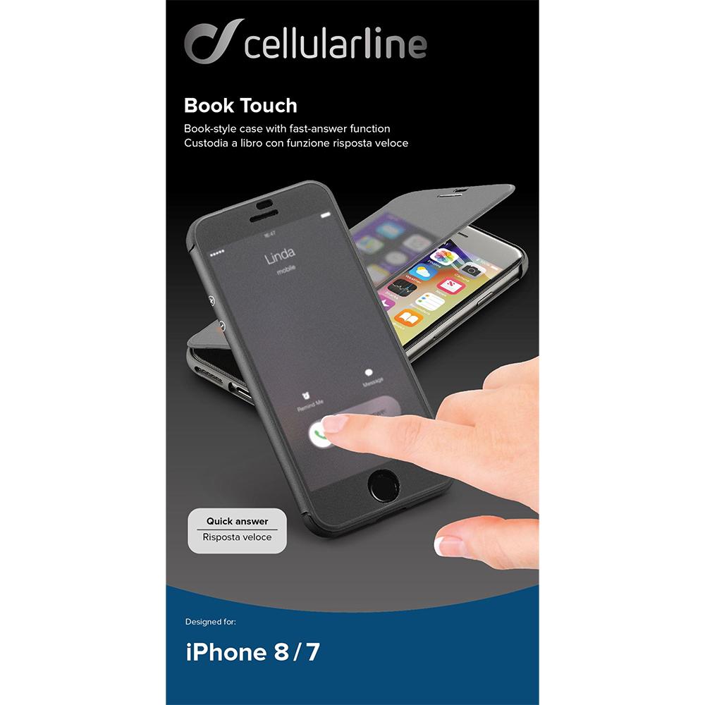 custodia a libro touch iphone 7