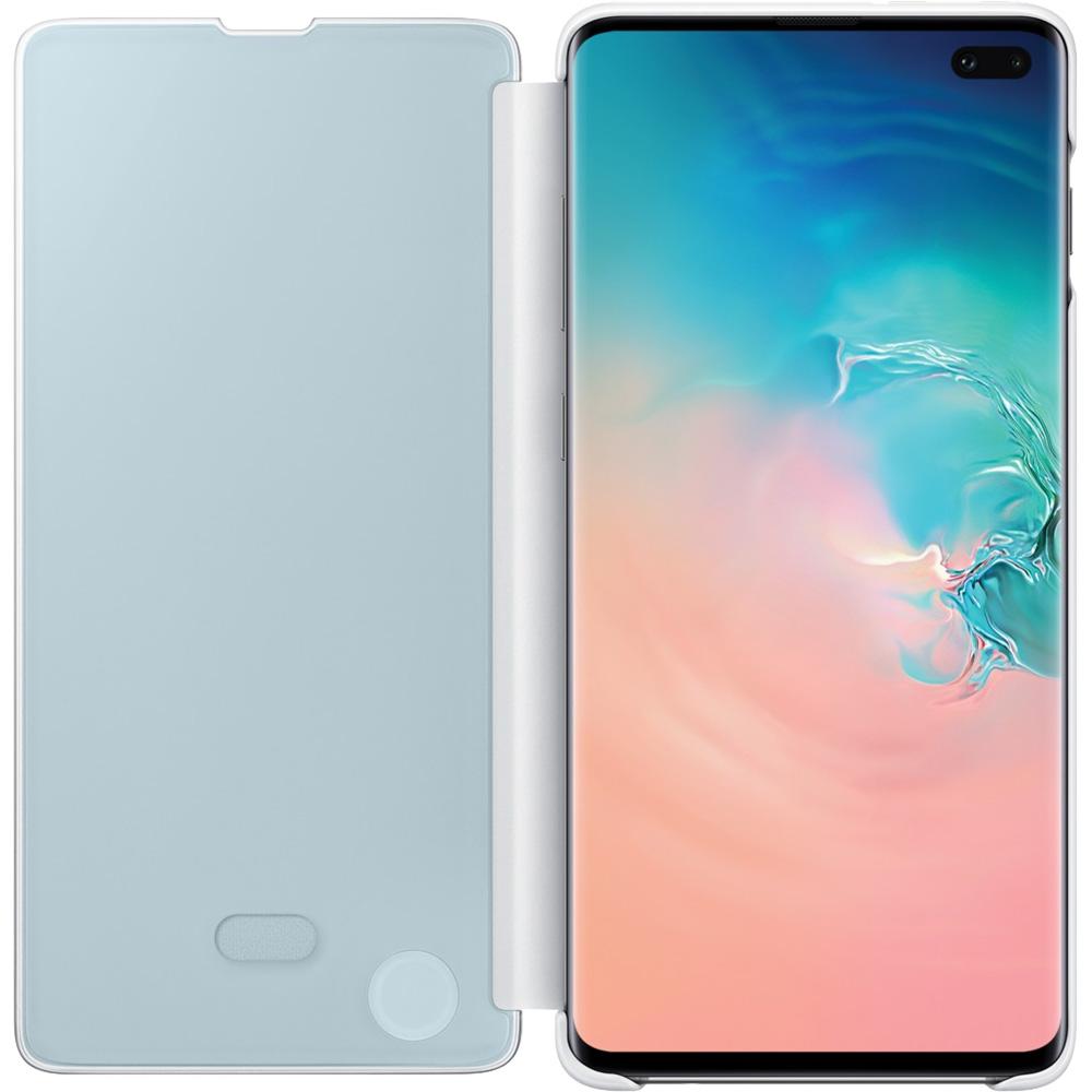 Clear View Book White SAMSUNG Galaxy S10 Plus