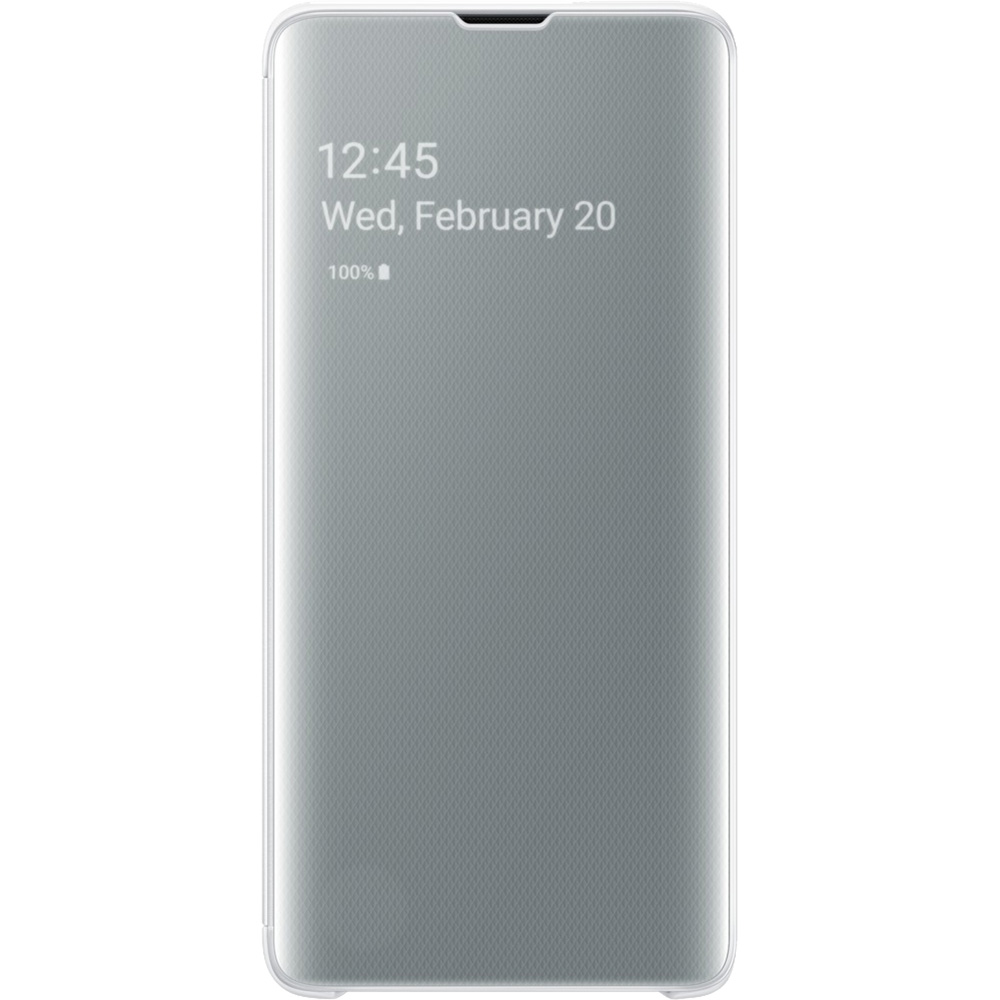 Clear View Book White SAMSUNG Galaxy S10