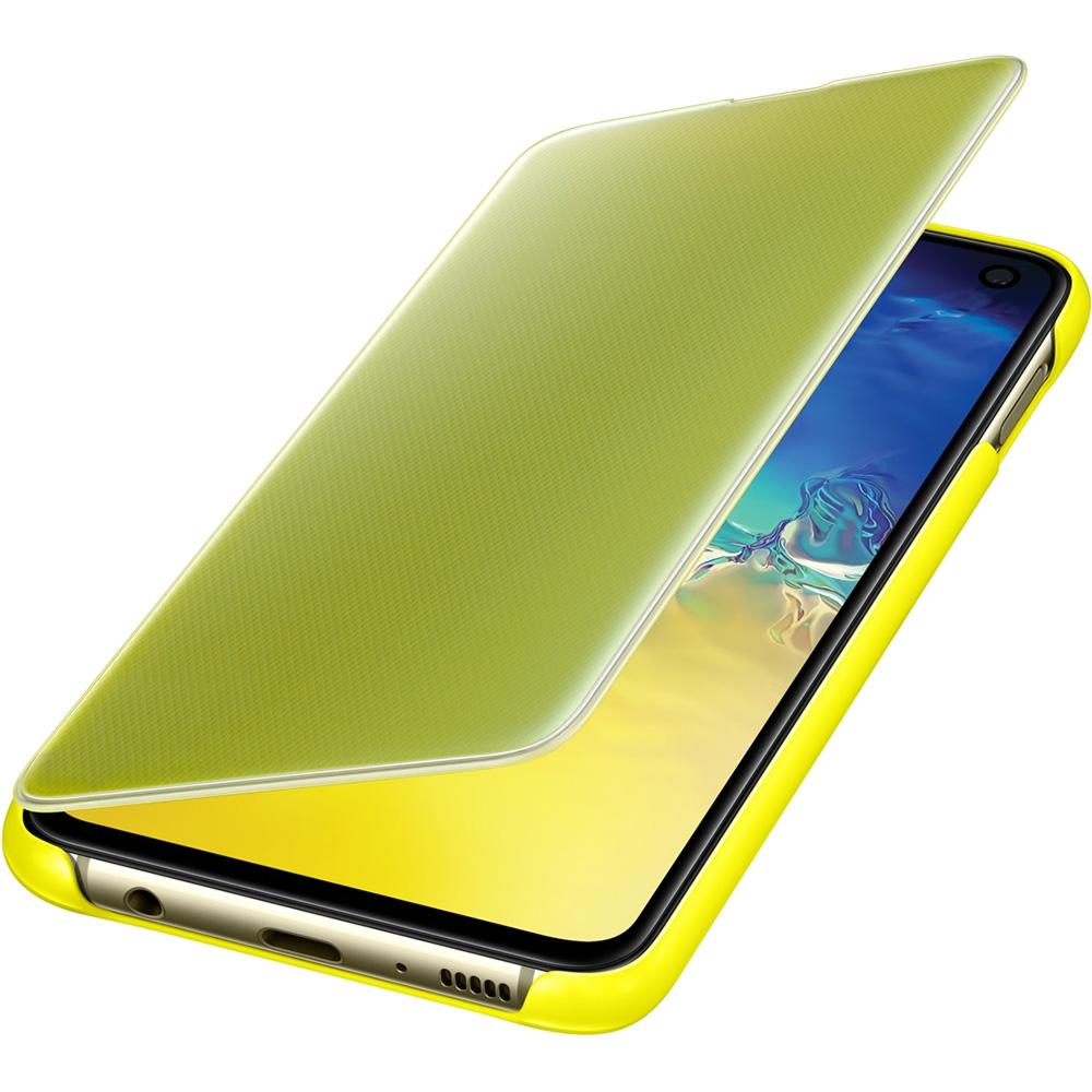 Clear View Book Yellow SAMSUNG Galaxy S10E