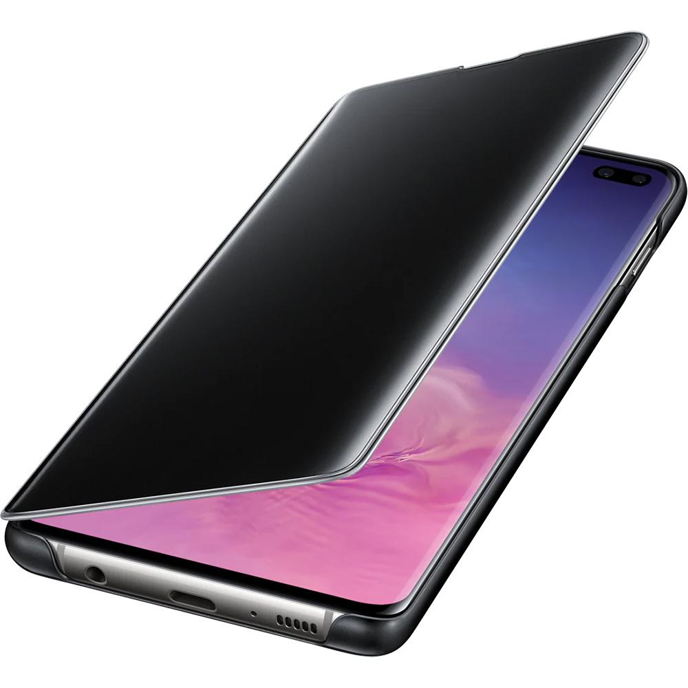 Clear View Book Black SAMSUNG Galaxy S10 Plus
