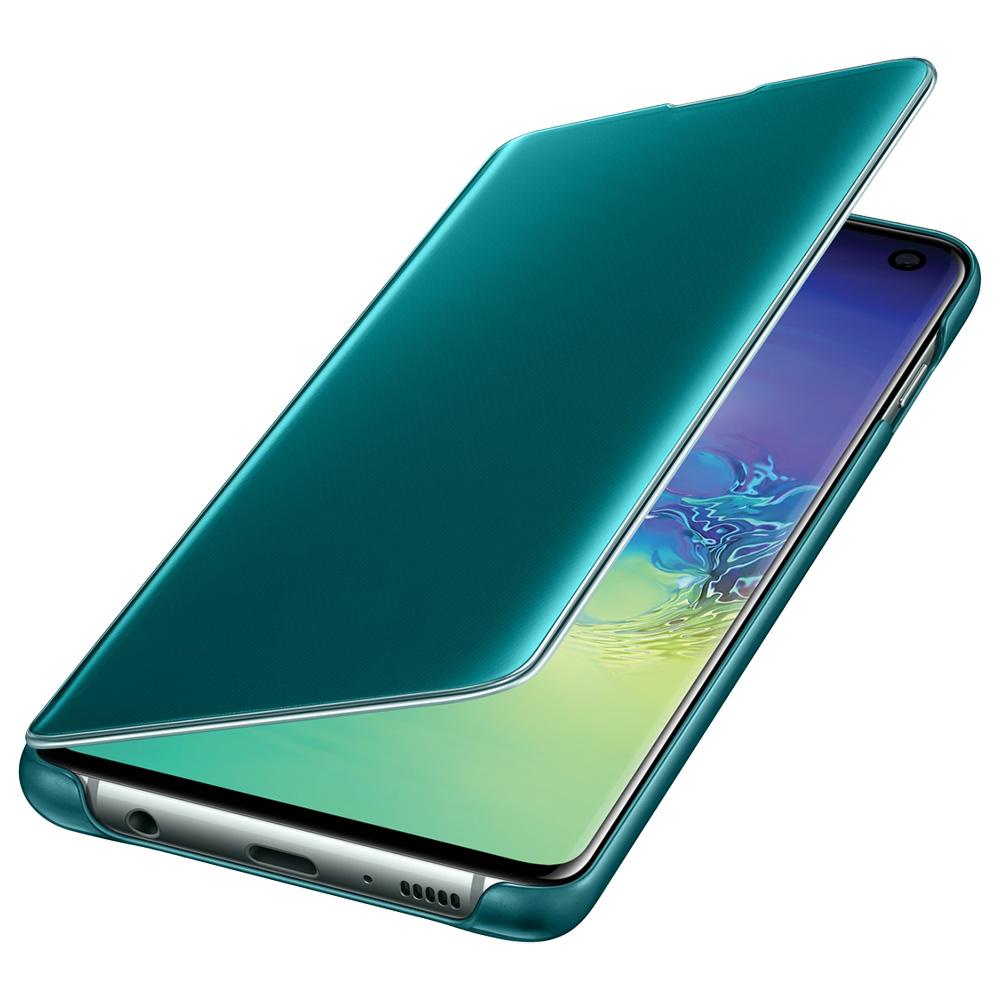 Clear View Book Green SAMSUNG Galaxy S10