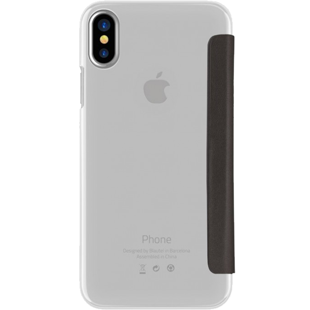 Husa Agenda ZMEURINO Crystal Negru CLVCRYSTALIPHX APPLE iPhone X, iPhone Xs